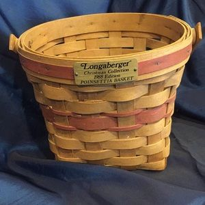 1988 Longaberger Christmas Collection